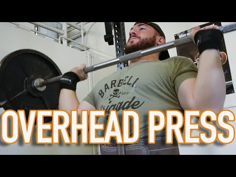 HOW and WHY you should OVERHEAD PRESS
