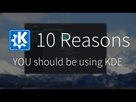 10 Reasons You Should Be Using KDE