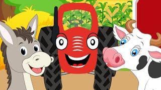 Тыр Тыр Трактор – Песенки про животных – СБОРНИК – Все мультики для детей – Сборник