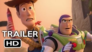 Toy Story That Time Forgot Blu-ray Trailer (2015) Tom Hanks, Tim Allen Pixar Short HD