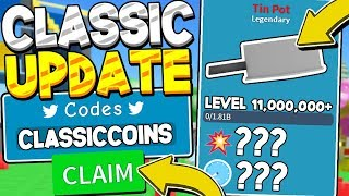 3 SECRET CLASSIC LAND COIN CODES IN UNBOXING SIMULATOR! Roblox