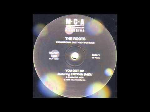 You Got Me Instrumental w Hook  The Roots Ft Erykah Badu