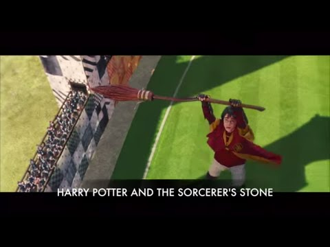 Harry Potter and the Sorcerer's Stone: Harry Potter's Jinxed Broom