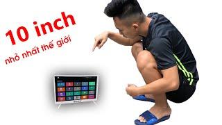 Chế Smart TV 10 inch Nhỏ Nhất …