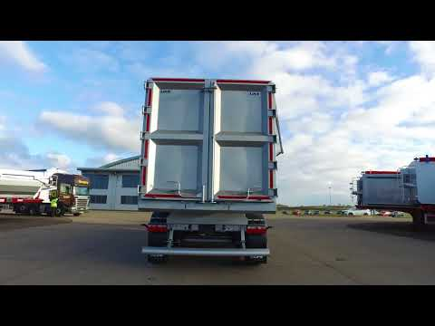 New 2017 Luck bulk steel bodied tipping trailer