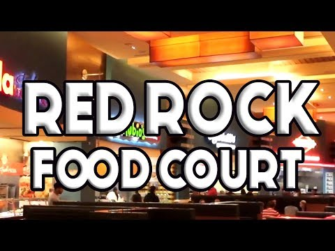 Red Rock Casino Las Vegas Food Court Tour