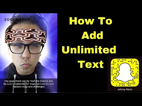 Snapchat Tricks: Unlimited Texts!