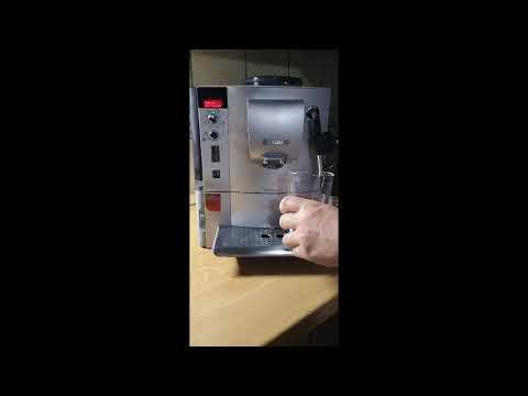 Bosch VeroCafe Latte  TES50351 automata kávéfőző vízkőtelenítés, calcandclean teljes  program