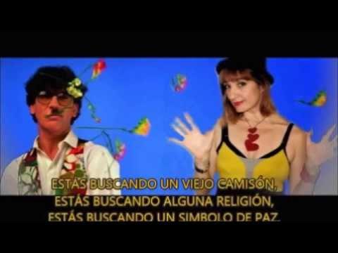Charly García y Paula Toller; Buscando un simbolo de paz (con letra).