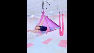 Aerial Yoga Aerial Hammock Splits Dance Choreography #aerialyoga #aerialhammock