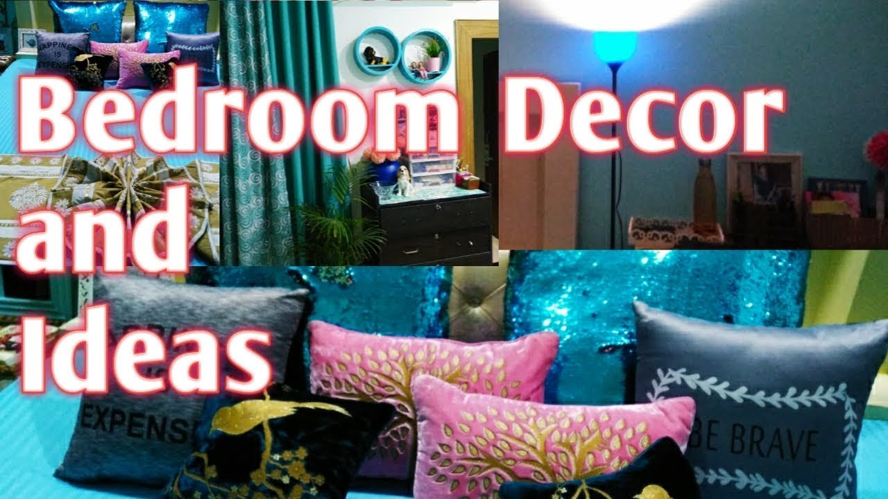 My BedRoom Tour and Ideas | How I Decorate my Bedroom with some ideas