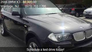 2008 BMW X3 3.0si AWD 4dr SUV for sale in Wantage, NJ 07461
