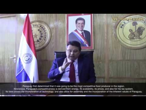 Voices Of Leaders interviews Don Gustavo Leite Minister of Industry and Commerce of Paraguay