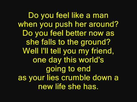 The Red Jumpsuit Apparatus - Face Down Lyrics