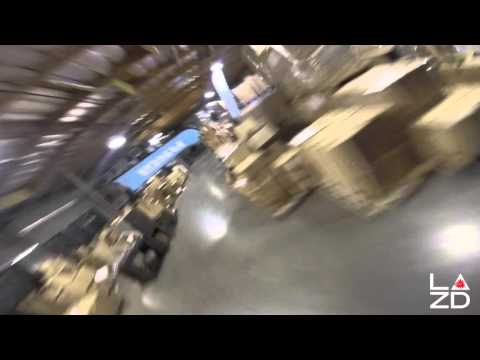 FPV drone racing: Warehouse Warzone