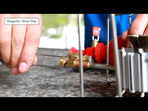 MSR Stoves: How-to use MSR liquid fuel  stoves