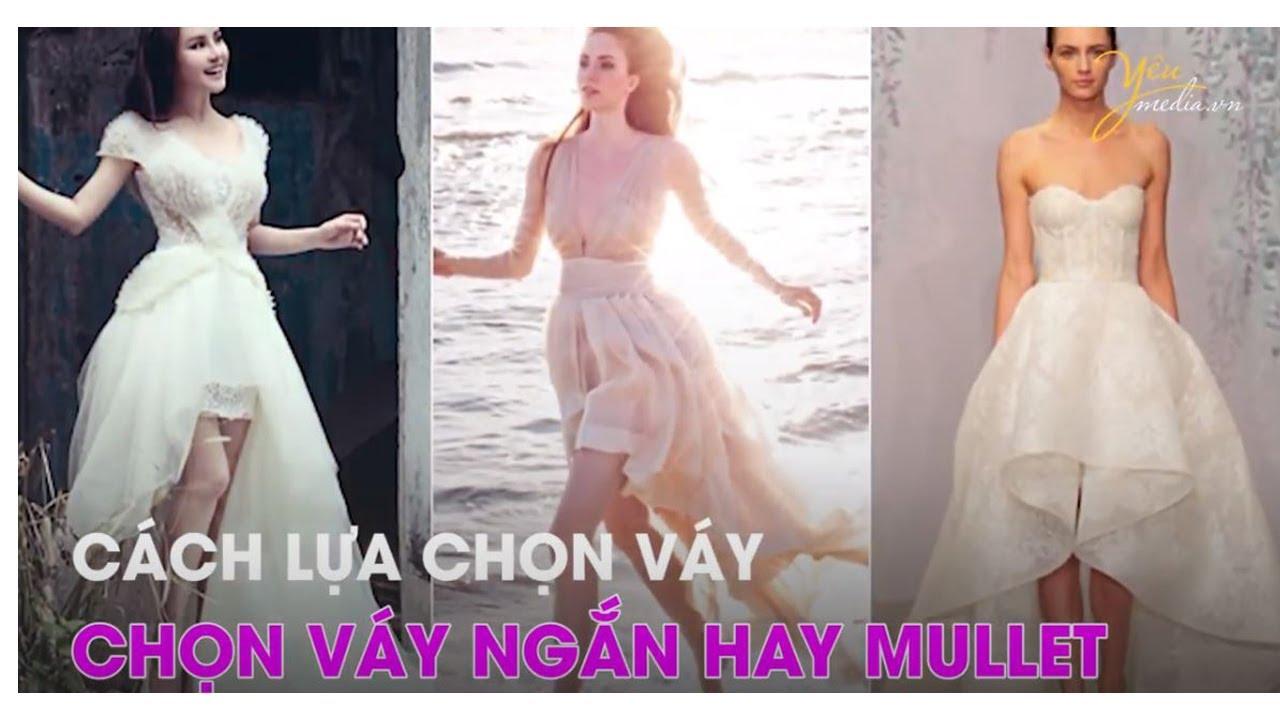 Cách lựa chọn váy cưới cho cô dâu lùn