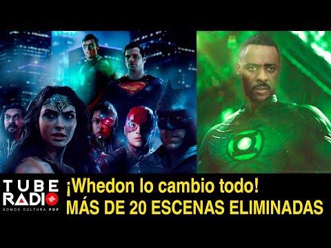 Tube Radio: Liga de la Justicia 20 ESCENAS ELIMINADAS  ¡Whedon lo cambio todo!