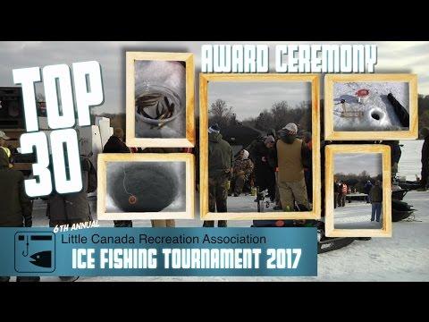 LCRA Ice Fishing Tourney 2017 - Top 30 Winners