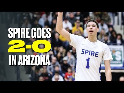 lamelo-ball-and-spire-dominate-in-arizona---full-game-highlights