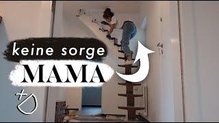 Projekt Treppen-Makeover = gefährliche Hühnerleiter?   Renovierung im Haus   MANDA Vlog