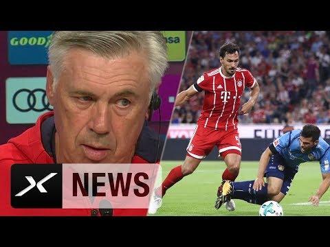 """Carlo Ancelotti: """"19 Torschüsse sind zu viel""""   FC Bayern München - Bayer 04 Leverkusen 3:1"""