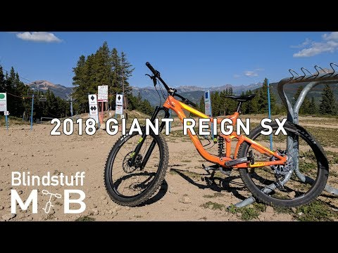 32ce452dfd2 2018 Giant Reign SX Test Ride & Review | Outerbike Crested Butte Day 1 -  Morning - YouTube