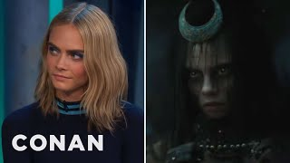 cara delevingne got naked to get into character as the enchantress conan on tbs