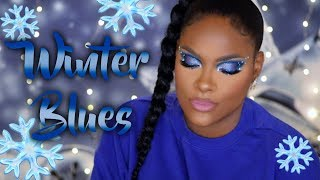 Extreme Transformation/Winter Blues Makeup Tutorial