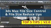 Using Blender for Reducing File Sizes - YouTube