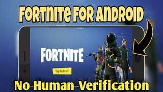 How To Get Fortnite on Android (No Human Verification)
