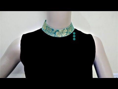 Latest Collar Neck Design (Easy Way) Cutting And Stitching