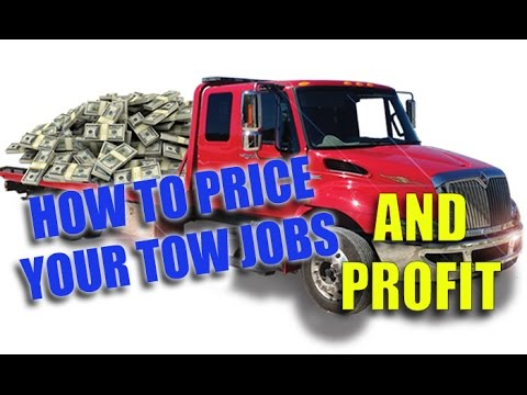 How To Price Your Work In The Towing Business