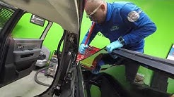 Ram Truck, Dodge Ram back slider glass replacement by Alfredo's Auto Glass in Corona CA