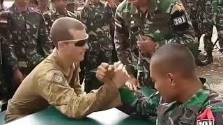 ADU PANCO, TENTARA INDONESIA MENANG MELAWAN TENTARA AMERIKA