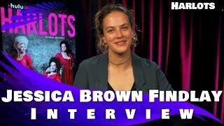 Video HARLOTS - Jessica Brown Findlay INTERVIEW download MP3, 3GP, MP4, WEBM, AVI, FLV Desember 2017