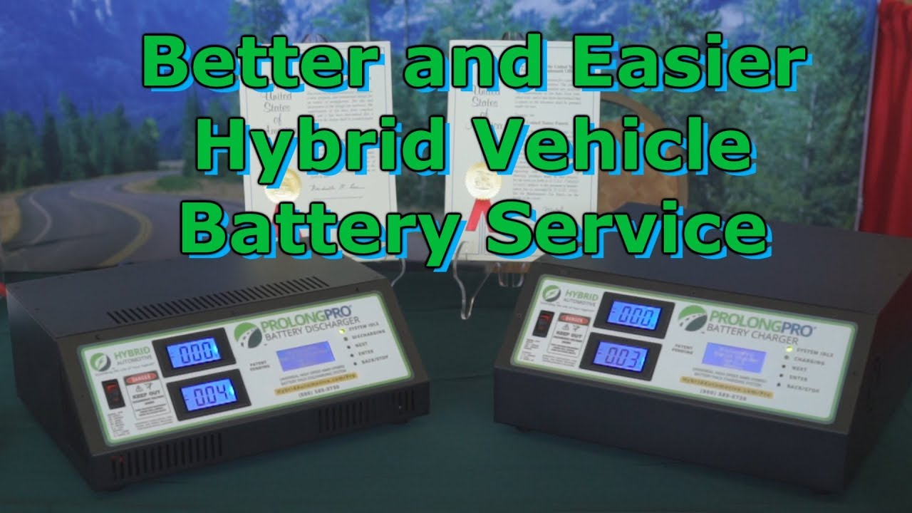Awesome Hybrid Vehicle Battery Reconditioning Wrenchin Up