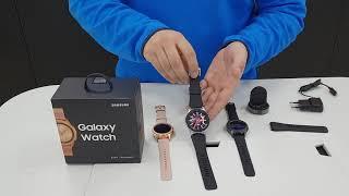 Обзор на новые Часы  SAMSUNG GALAXY WATCH 