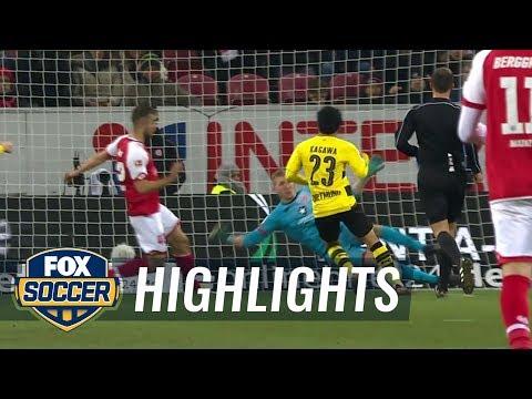 FSV Mainz 05 vs. Borussia Dortmund   2017-18 Bundesliga Highlights