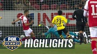 FSV Mainz 05 vs Borussia Dortmund  2017-18 Bundesliga Highlights