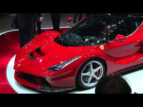 LaFerrari Geneva Motor Show Premiere