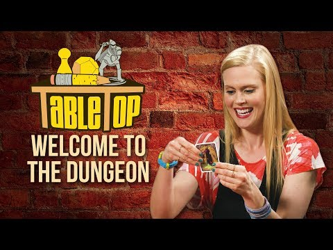 TableTop: Wil Wheaton Plays Welcome to the Dungeon w Janet Varney, Hector Navarro, & Rhea Butcher