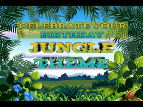 Jungle Theme Decoration Ideas