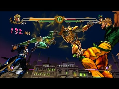 Jojo's All Star Battle Matches Dio vs Jotaro