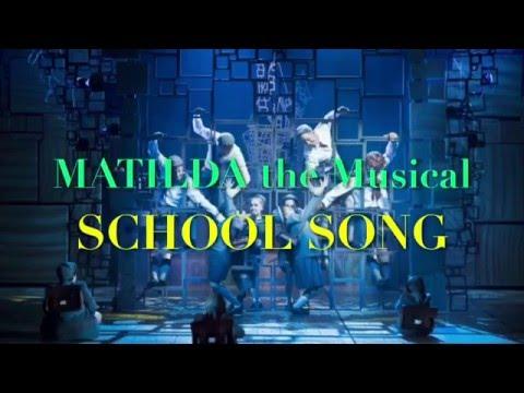 [日本語字幕] school song MATILDA the musical