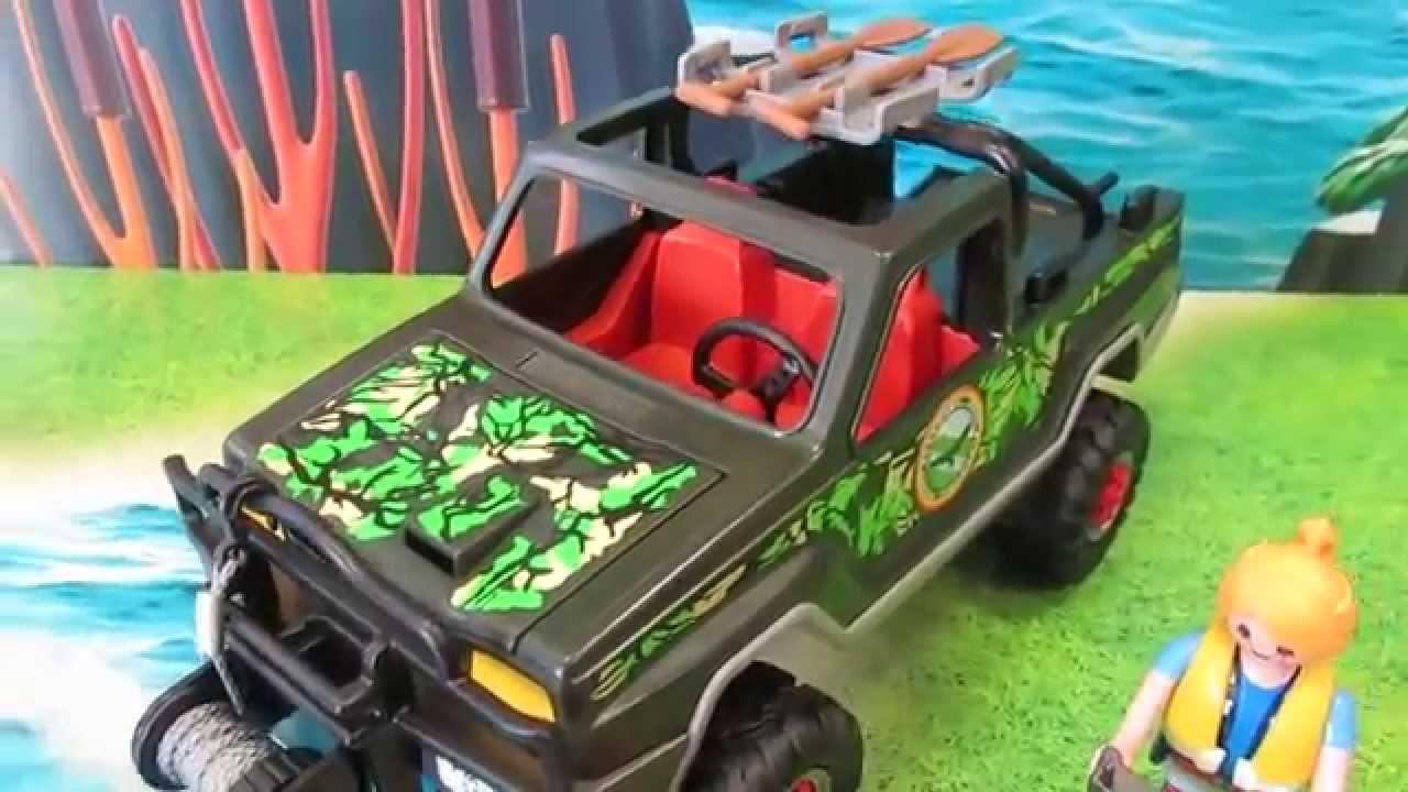 Playmobil 5558 Abenteuer Abenteuer-Pickup Playmobil