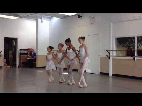 The Swan Lake Pas de Quatre  (Ayaka Sonehara 9yrs and 8months)