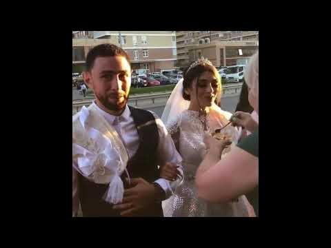 Свекровь встречает жениха и невесту / Красивая армянская свадьба в Ереване 2018