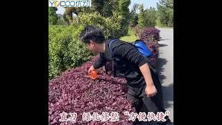 YODOO 충전식 무선 전정톱 나무 가지치기 트리머 원…
