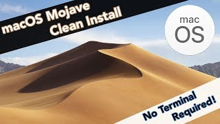 HOW TO CLEAN INSTALL macOS Mojave [No Terminal Required] - Bootable Flash Drive